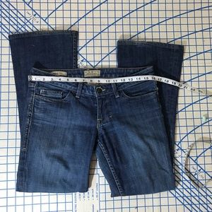 Flare denim jeans belle William Rast size 27 nice